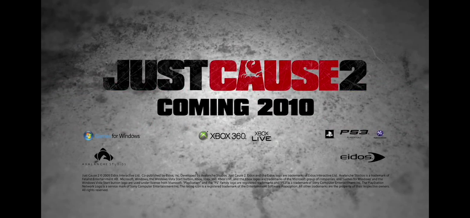 Just cause 2 – E3 trailer not offical